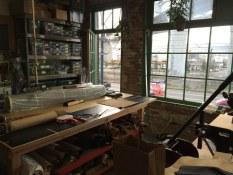 Maker space at Beam & Anchor