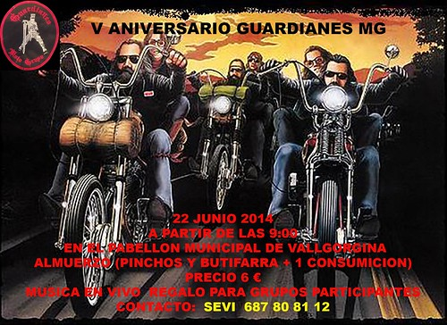 V Aniv. Guardianes MG _ Vallgorgina