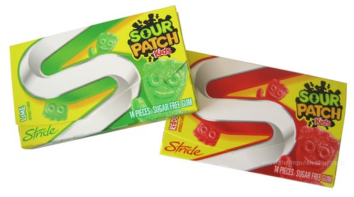 Stride Sour Patch Kids Gum