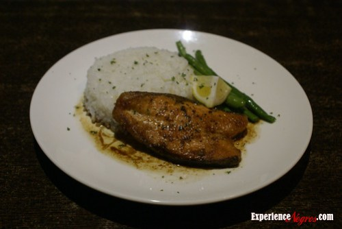 wambas pan fried salmon