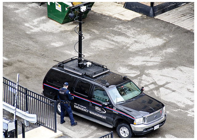 City of Chicago Emergency Management Surveillance Vehicle