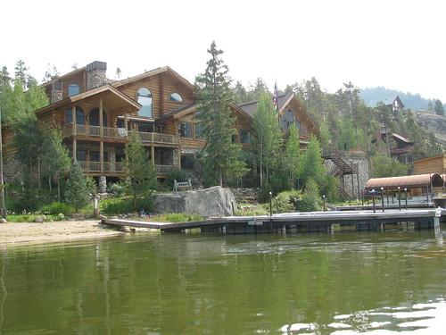 Canoeing on Grand Lake