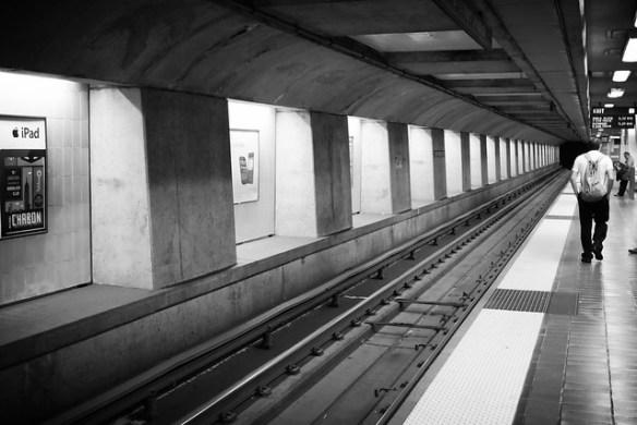 SF subway station