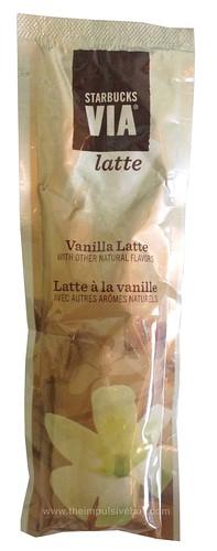 Starbucks Via Latte Vanilla Latte