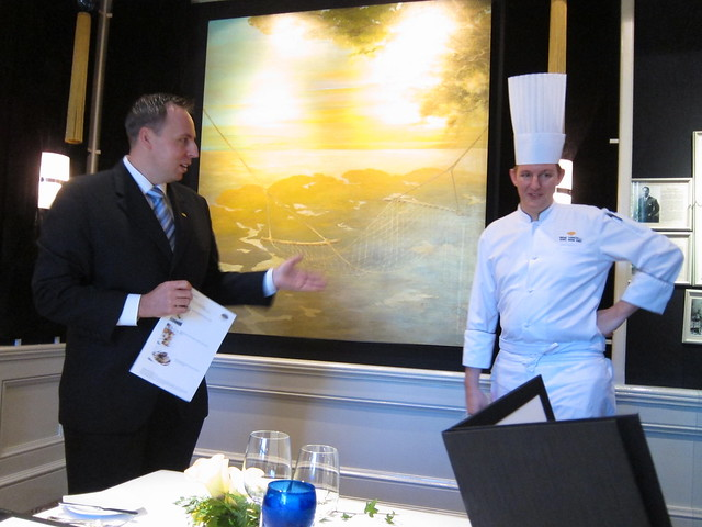 Peter Pysk and Chef Remi
