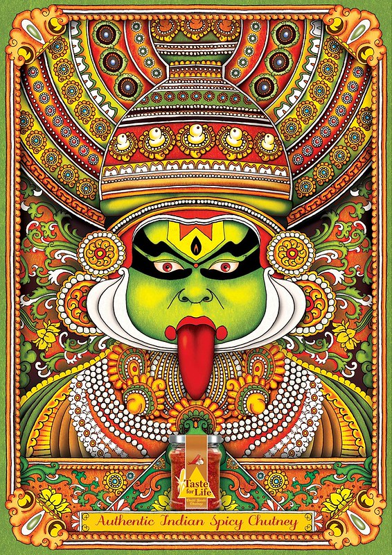 Taste for life - Kathakali