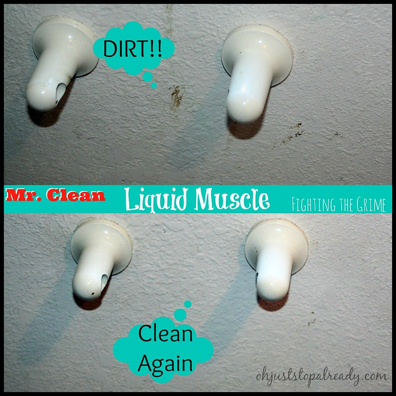 Mr. Clean, Liquid Muscle, Cleaner, Household cleaners, sponsored