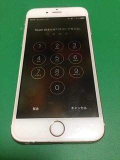 93_iPhone6Sのフロントパネルガラス割れ