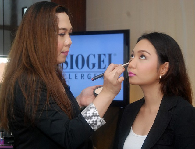 RB Chanco's make-up demo