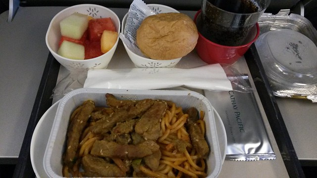 CX airline meal
