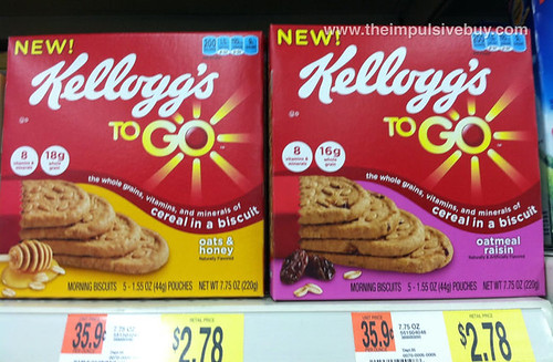 Kellogg's To Go Morning Biscuits