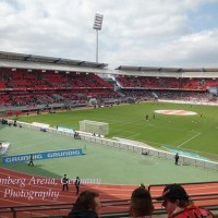 Football Live in Frankenstadion in  Nuremberg for the Second  Time