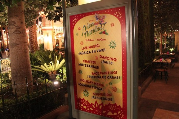 Viva Navidad celebration at Disney California Adventure