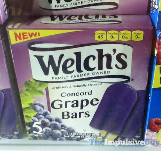Welch's Concord Grape Bars