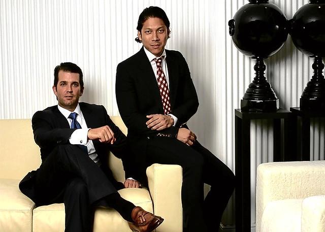 Donald Trump Jr. and Robbie Antono