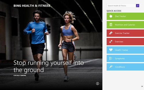 Bing Health & Fitness App