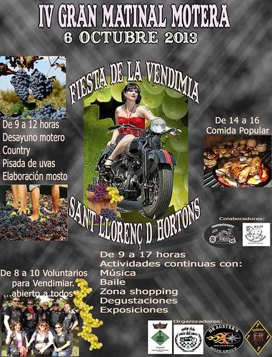 IV Gran Matinal Motera Fiesta de la Vendimia - Sant Llorenç d'Hortons