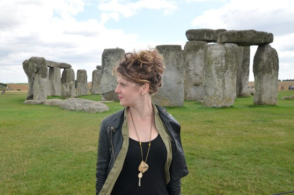 Stonehenge Rock Necklace