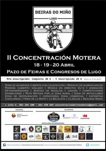 II Concentración Motera Beiras do Miño - Lugo
