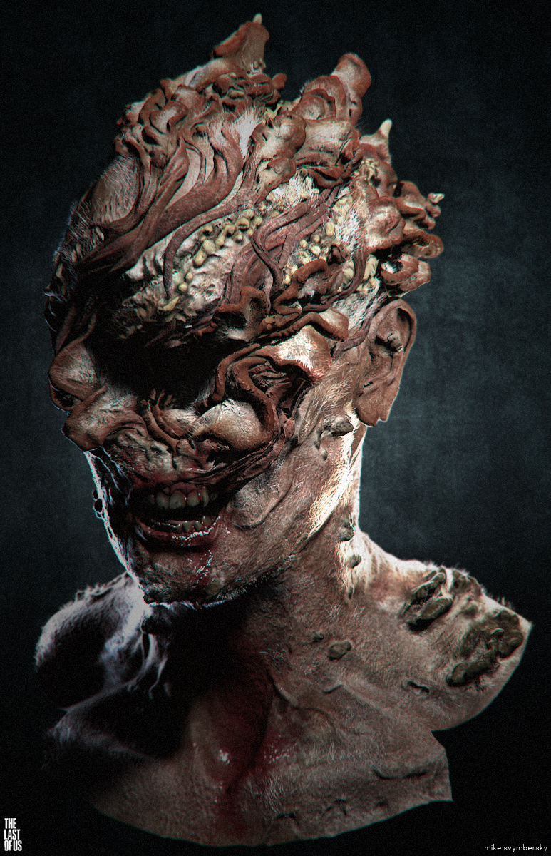 Character Art   The Last Of Us Infected - Art Of The Game