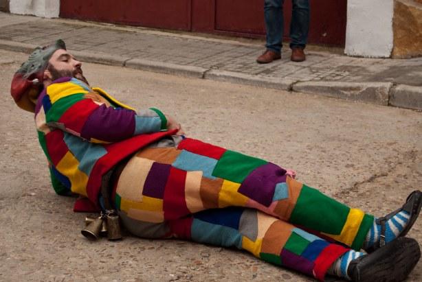 La botarga en la procesión