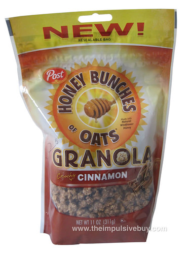 Post Honey Bunches of Oats Granola Crunchy Cinnamon