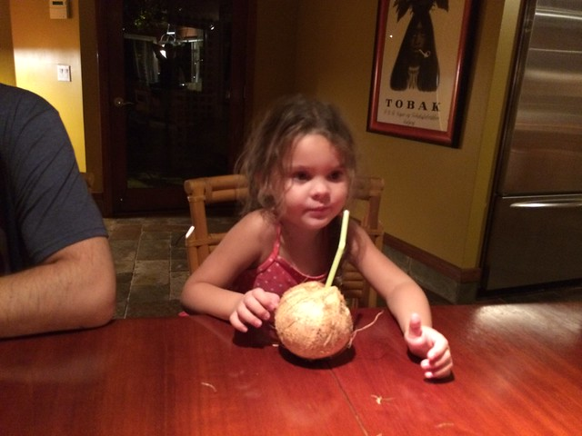 doesn't like coconut water
