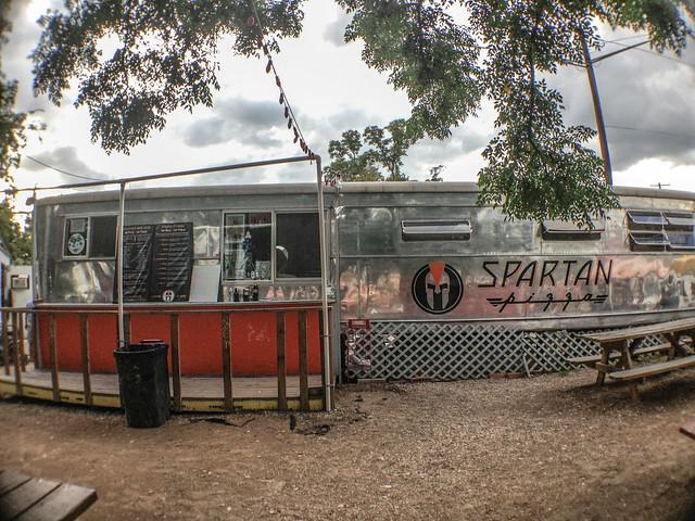 Spartan Pizza -2 food truck park in austin