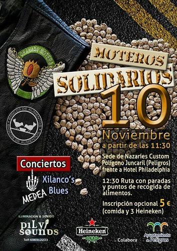 Moteros Solidarios - Peligros (Granada)