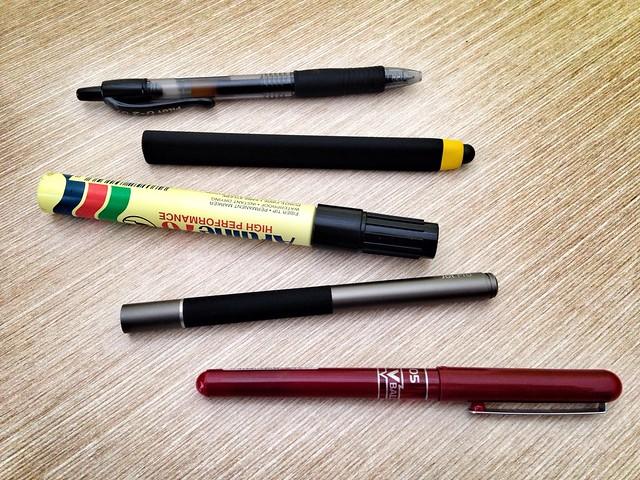 Stylus and pen comparisons