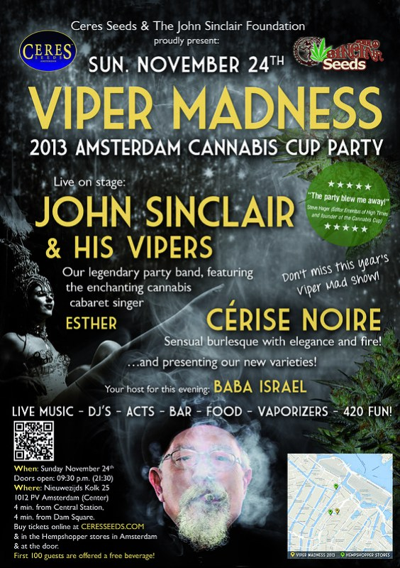 John Sinclair - Viper Madness 24th November 2013