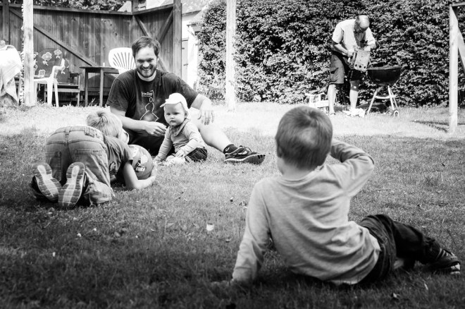 Family Time in the Garden