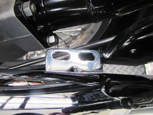Muffler Bracket Orientation For Mounting on Frame Bracket