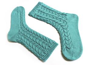 Gentle Waves Socks
