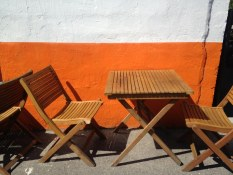 Burger seating in Penticton