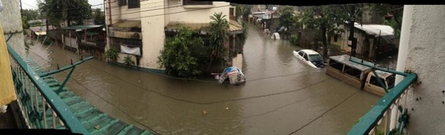 Paranaque flood situation