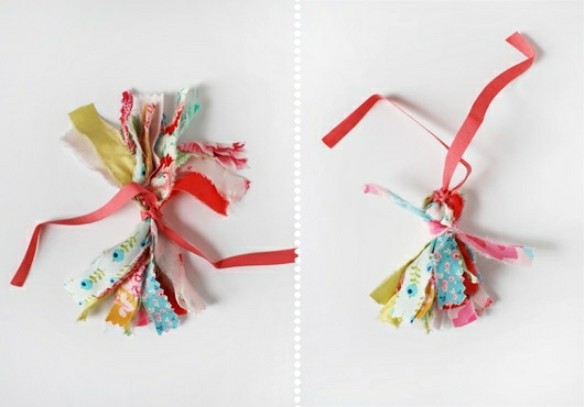 Make Me: Pretty Scrap Fabric Tassels