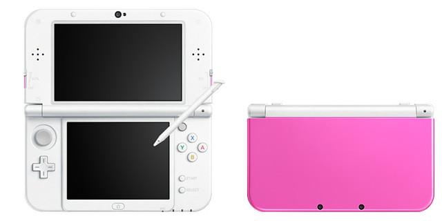 New3DSLL「ピンク×ホワイト」