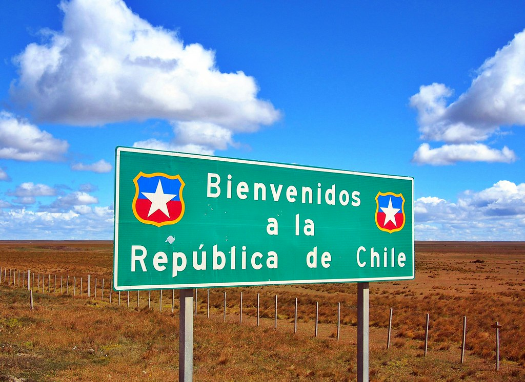 Entering Chile