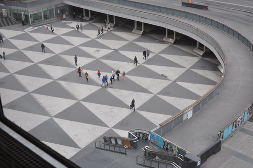 Sergels torg depuis Kulturhuset
