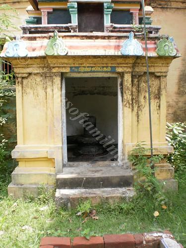 Brahma Lingam at Thirupungur Sivalokanathar Temple