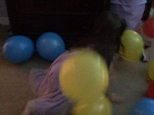 morning balloons