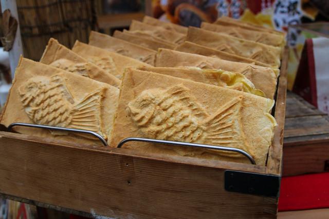 Japanese taiyaki snack