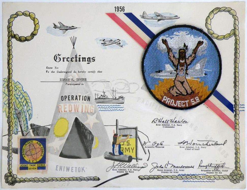 Operation Redwing Nuclear Test Certificate w/ Project 58 P\u2026 Flickr