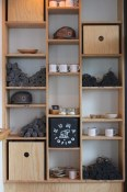 Retail shelving at front door | Kuma Tofino
