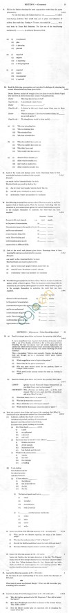 CBSE Sample Paper for Class X English Language and Literature   SA2   2014