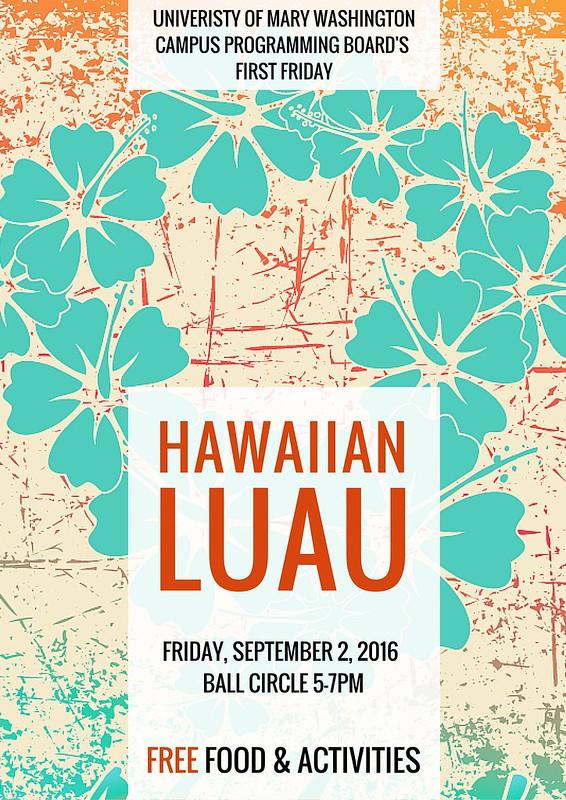 First Friday Hawaiian Luau