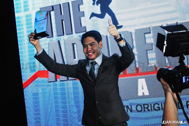 Jonathan Yabut made history as he became the first Filipino winner of the first The Apprentice Asia.