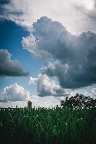 Fuji X100: Clouds Moving In