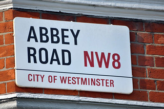 La famosa calle de los beatles abbey road en londres